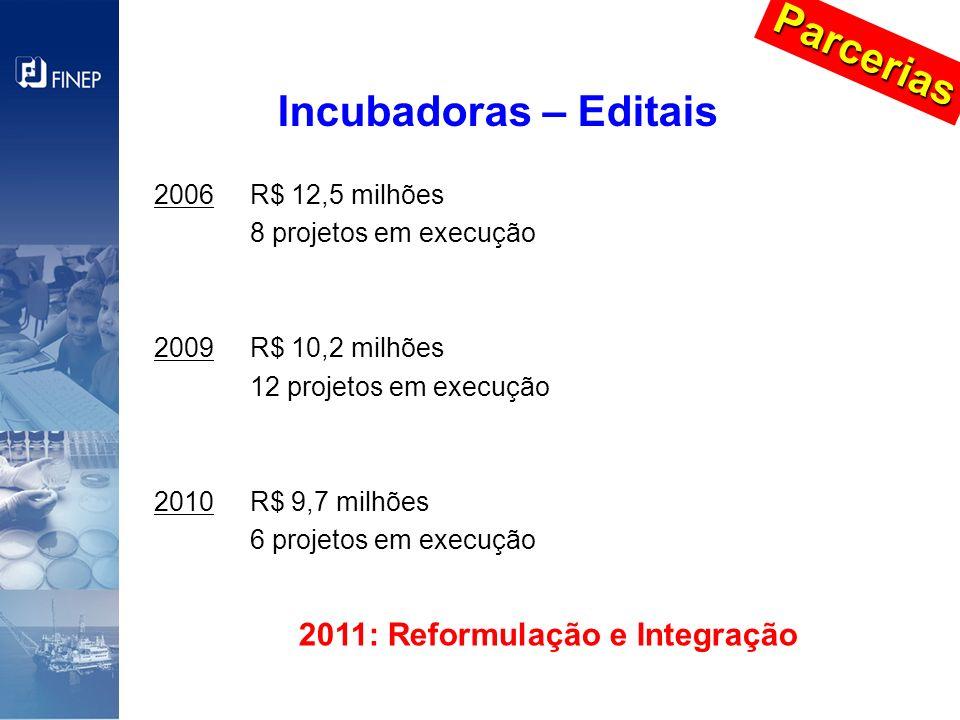 2011: Reformulação e Integração