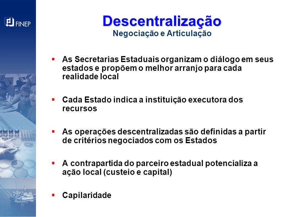 Descentralização Negociação e Articulação