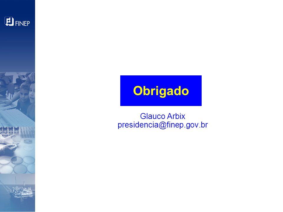 Glauco Arbix presidencia@finep.gov.br