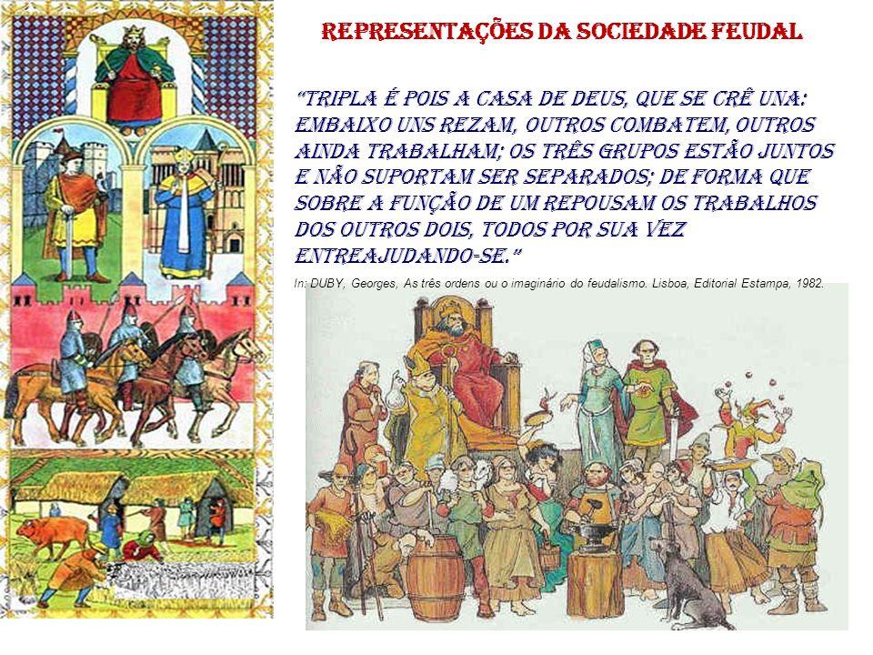 representações da sociedade feudal