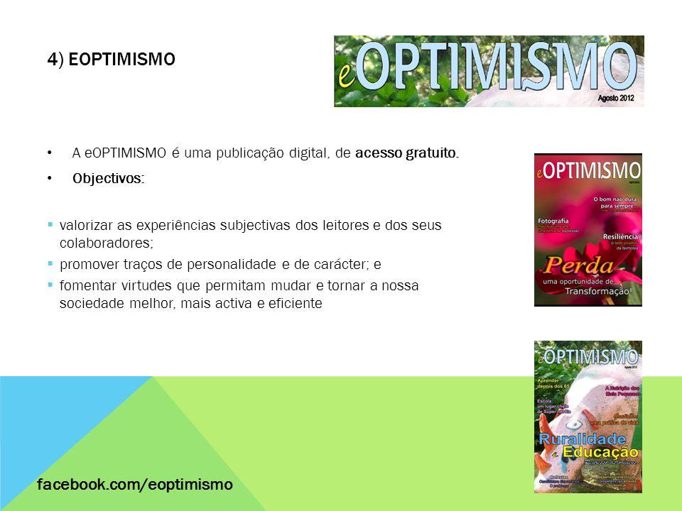 4) eOPTIMISMO facebook.com/eoptimismo