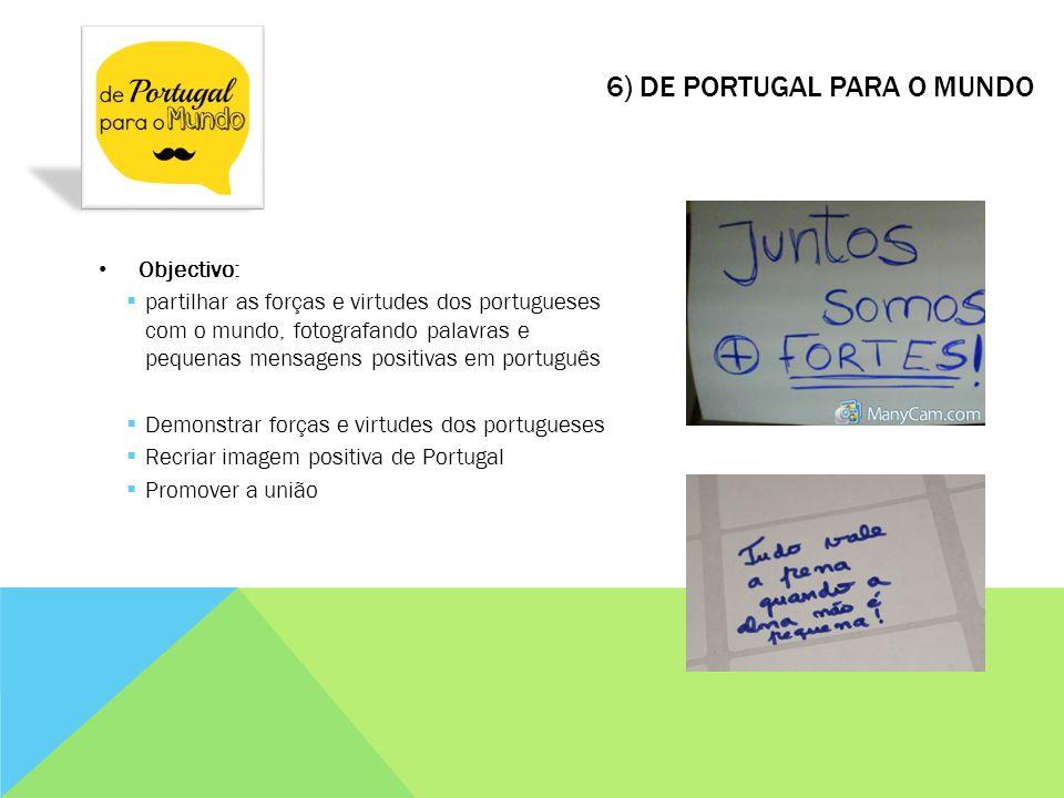 6) De Portugal para o Mundo
