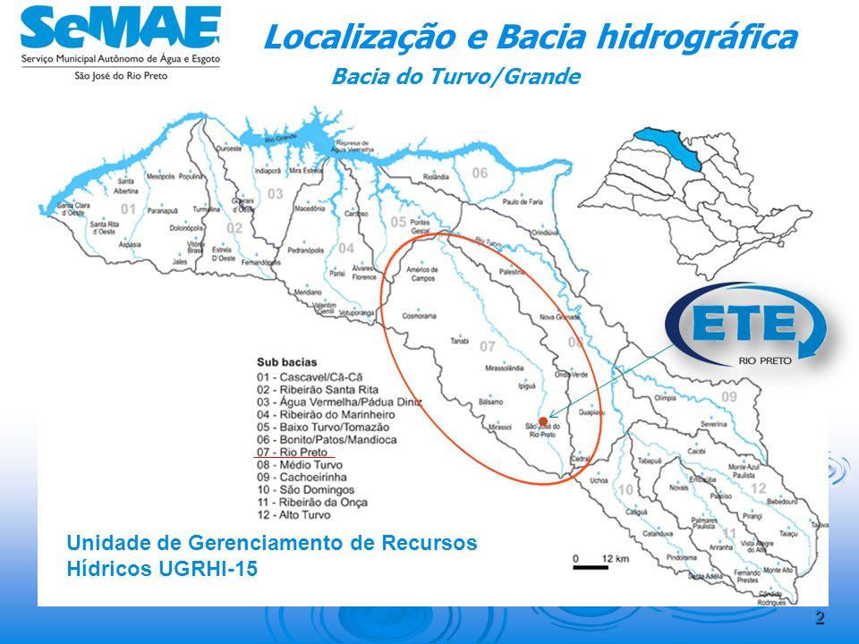 Localização e Bacia hidrográfica