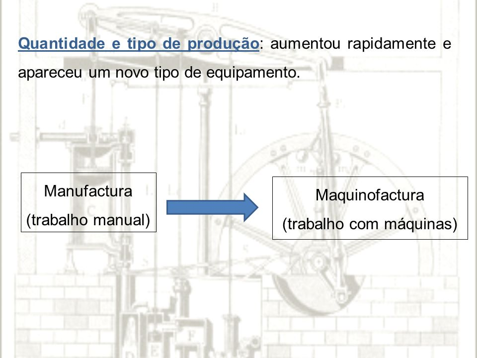 (trabalho com máquinas)