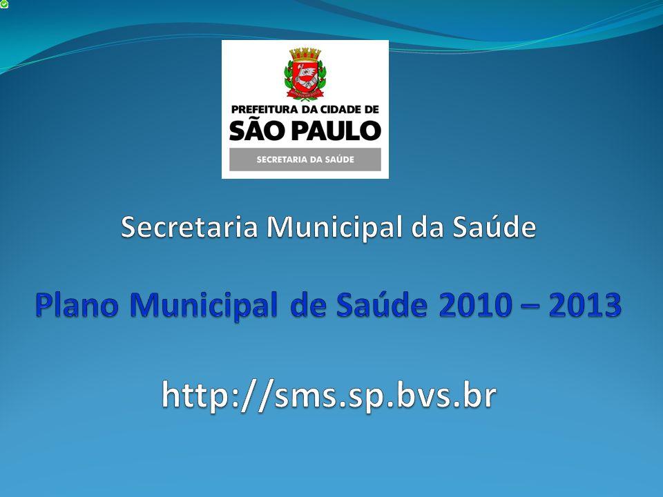 Secretaria Municipal da Saúde Plano Municipal de Saúde 2010 – 2013 http://sms.sp.bvs.br