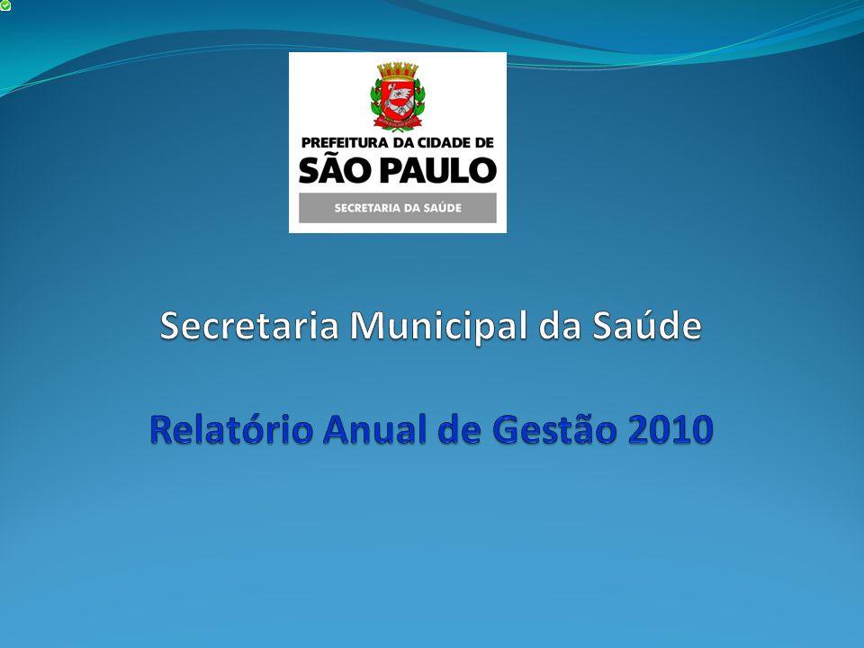 Secretaria Municipal da Saúde Relatório Anual de Gestão 2010