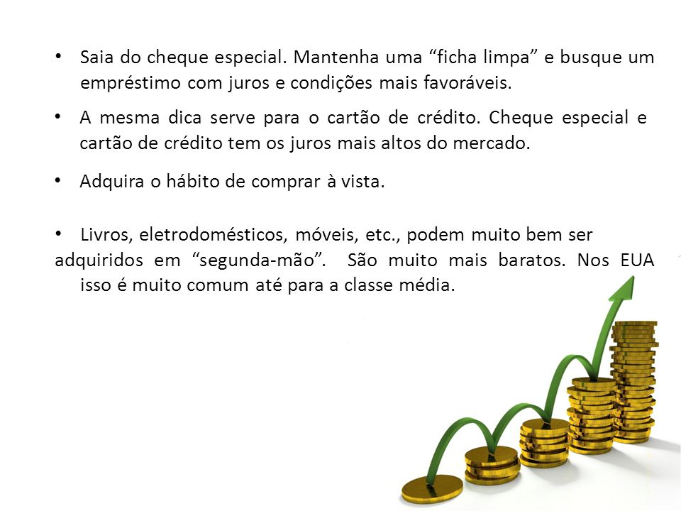 Saia do cheque especial