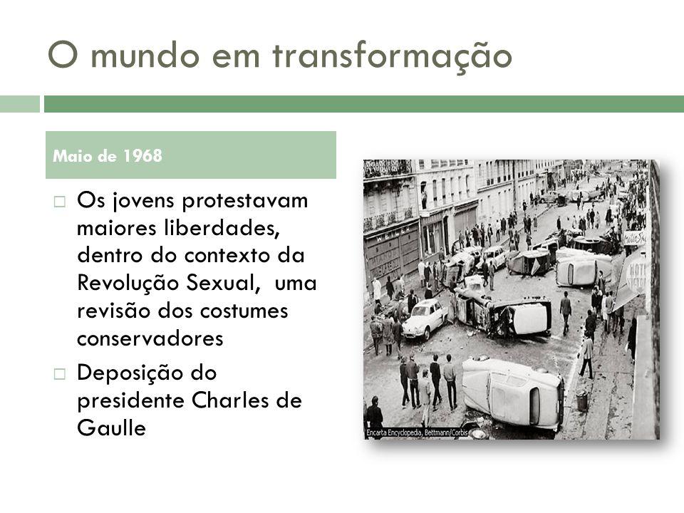 O mundo em transformação
