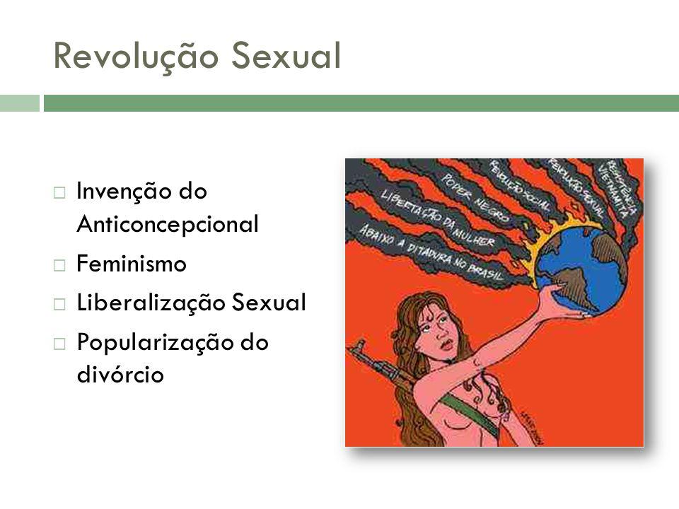 Revolução Sexual Invenção do Anticoncepcional Feminismo