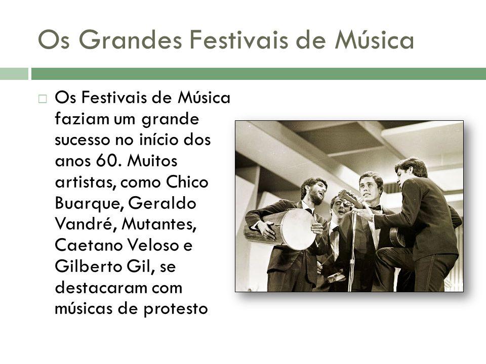 Os Grandes Festivais de Música