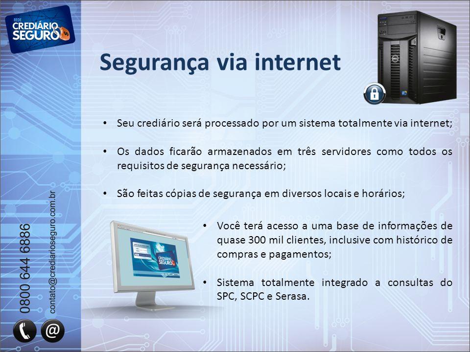 Segurança via internet