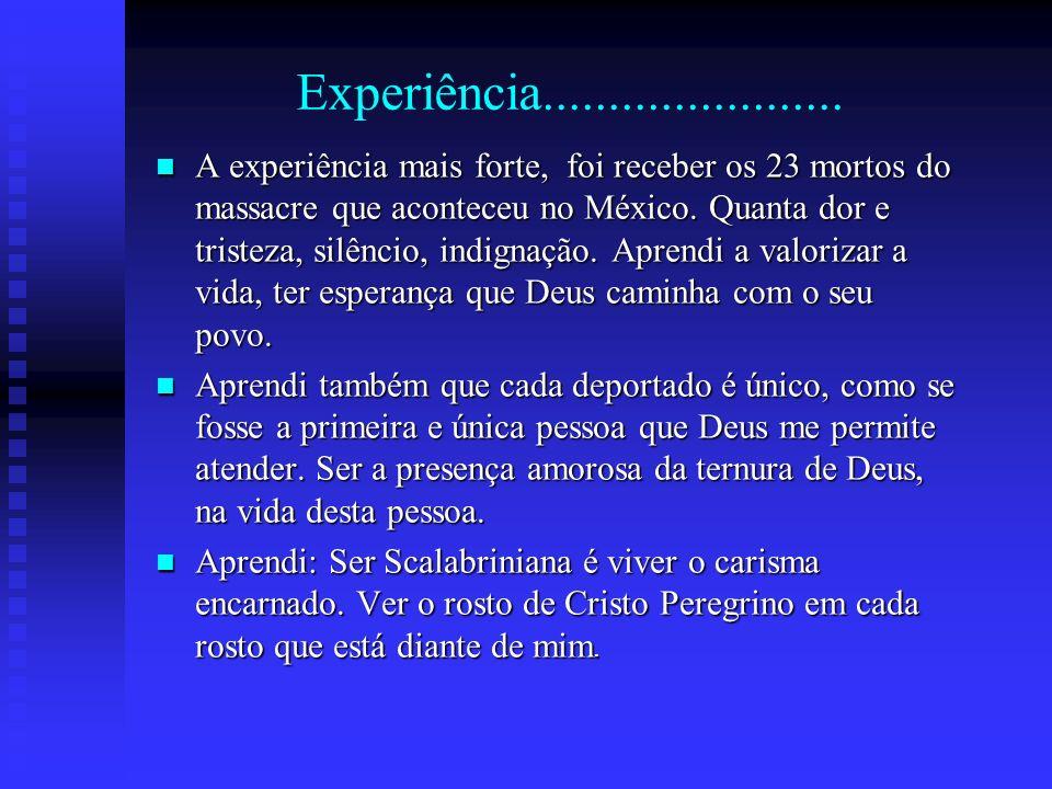 Experiência.......................
