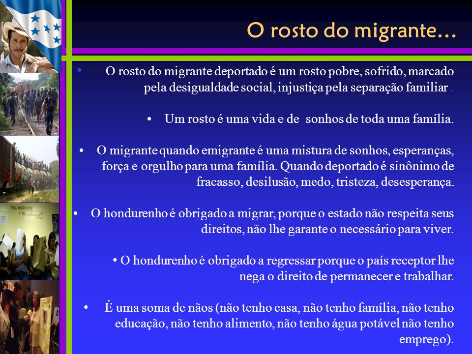 O rosto do migrante…0, 0,