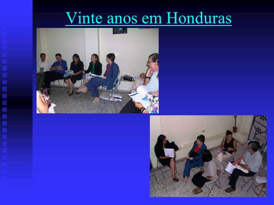 Vinte anos em Honduras