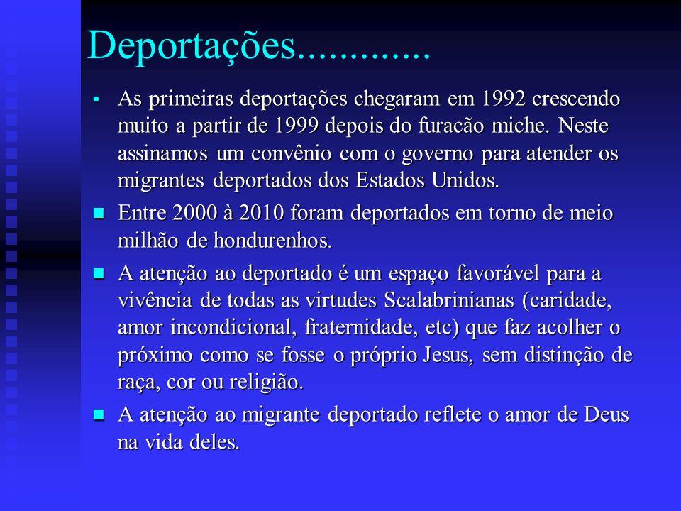 Deportações.............