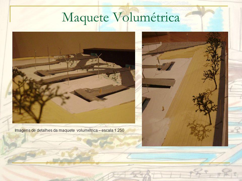Maquete Volumétrica Imagens de detalhes da maquete volumétrica – escala 1:250