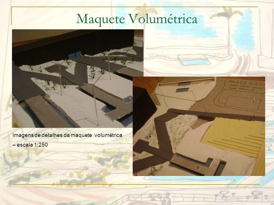 Maquete Volumétrica Imagens de detalhes da maquete volumétrica
