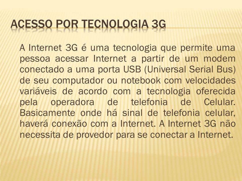 Acesso por Tecnologia 3G