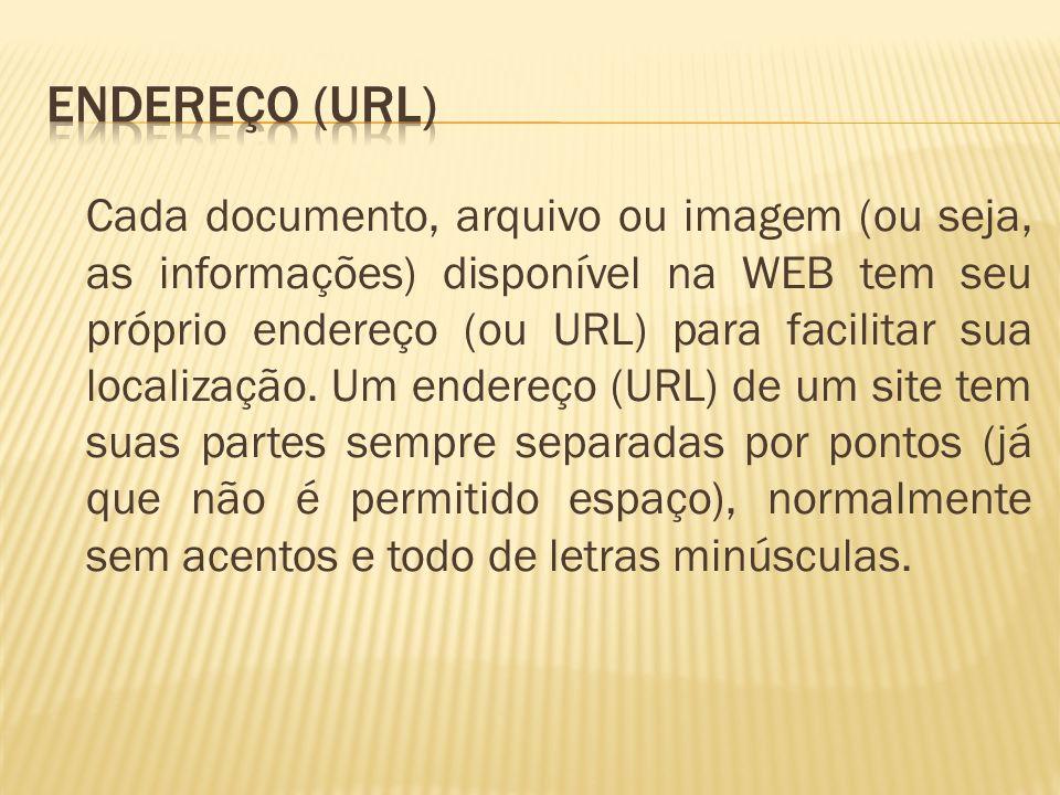 Endereço (URL)