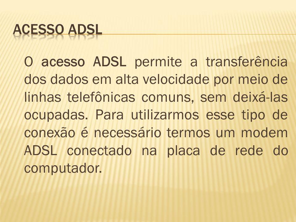 Acesso ADSL