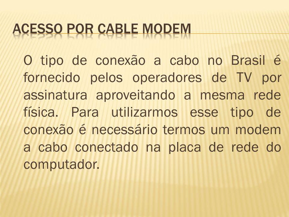 Acesso por Cable Modem