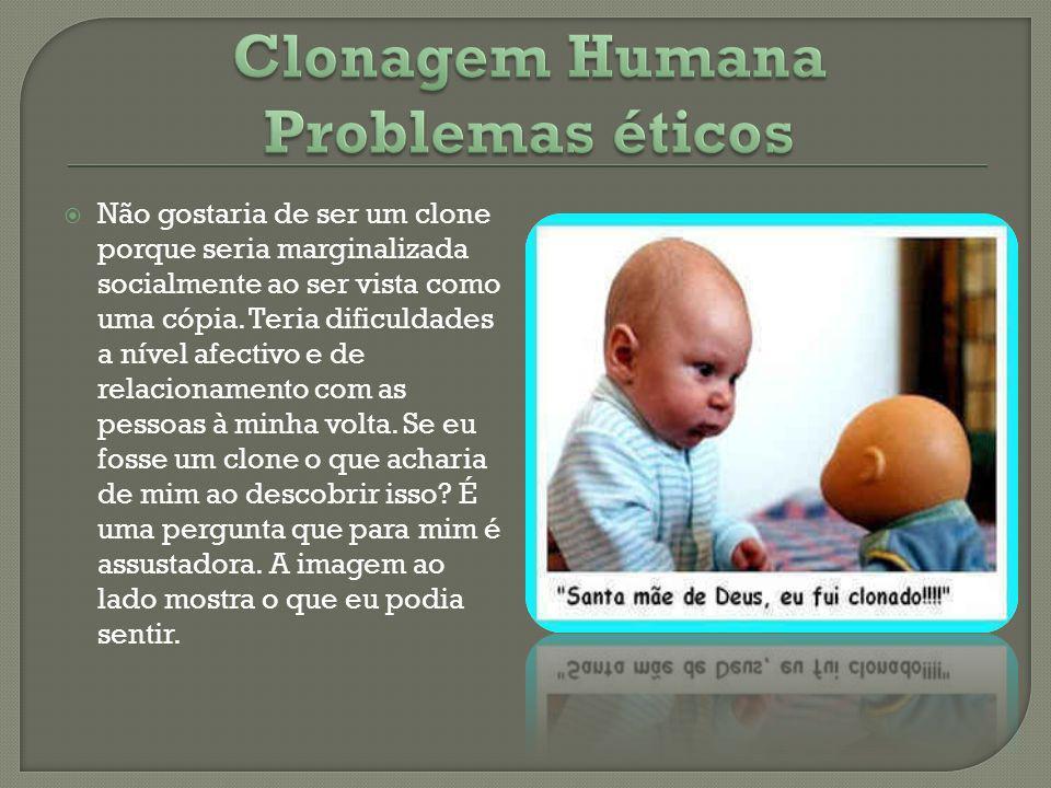 Clonagem Humana Problemas éticos