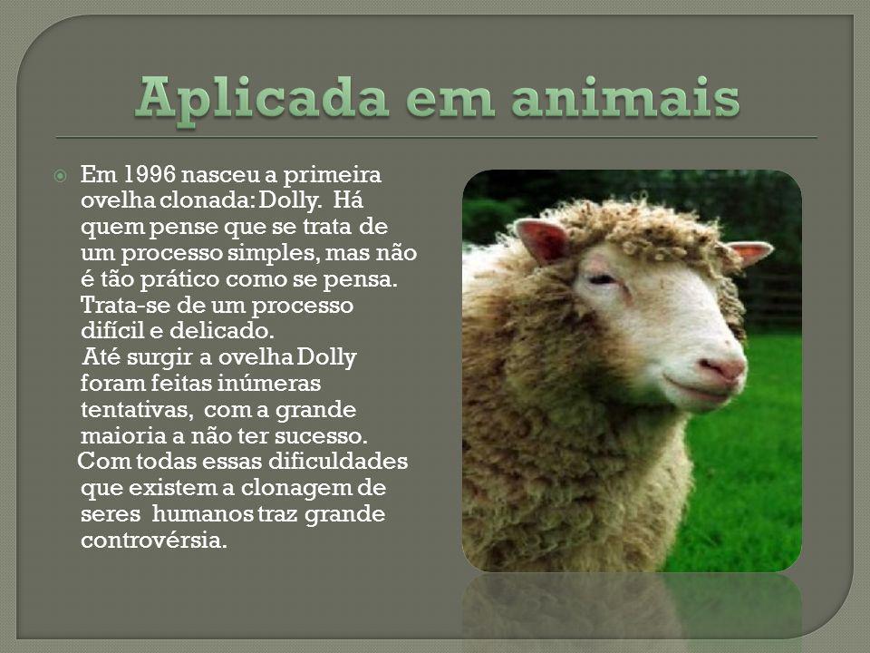 Aplicada em animais