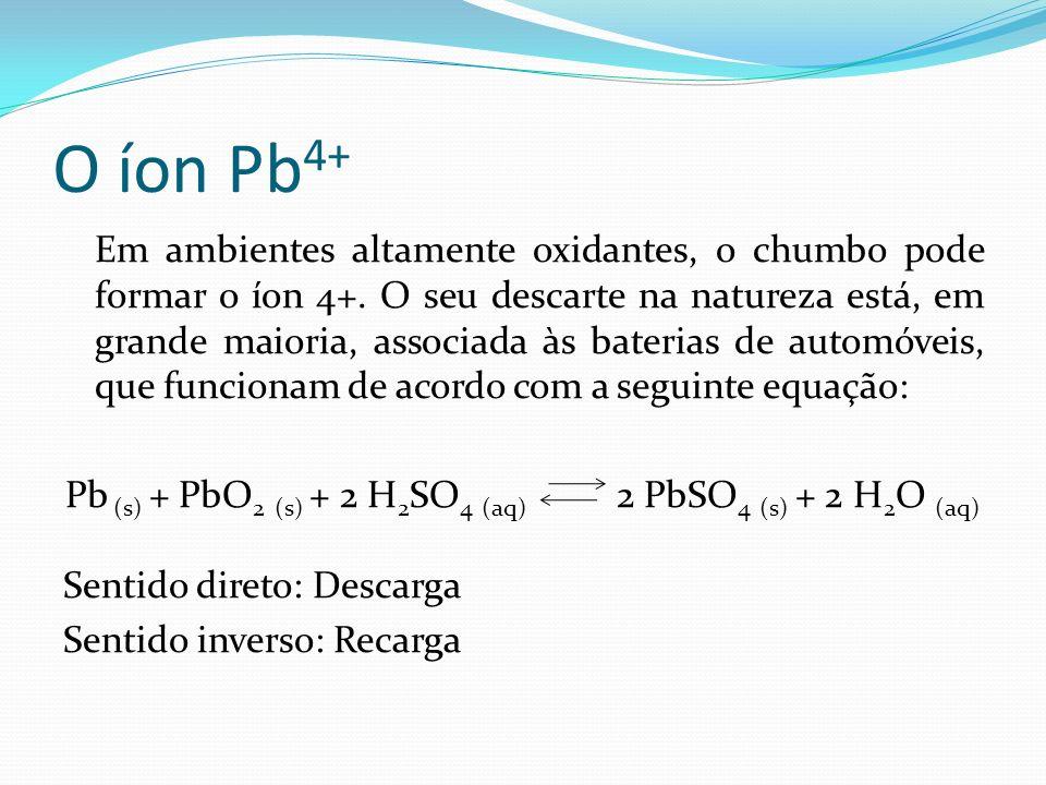O íon Pb4+