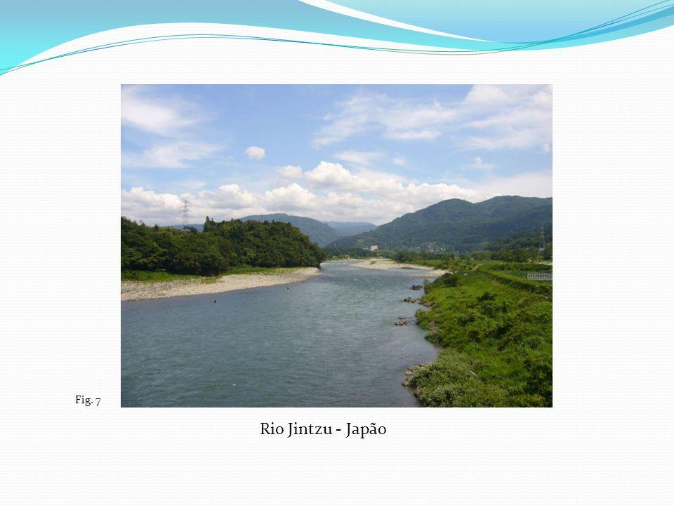 Fig. 7 Rio Jintzu - Japão