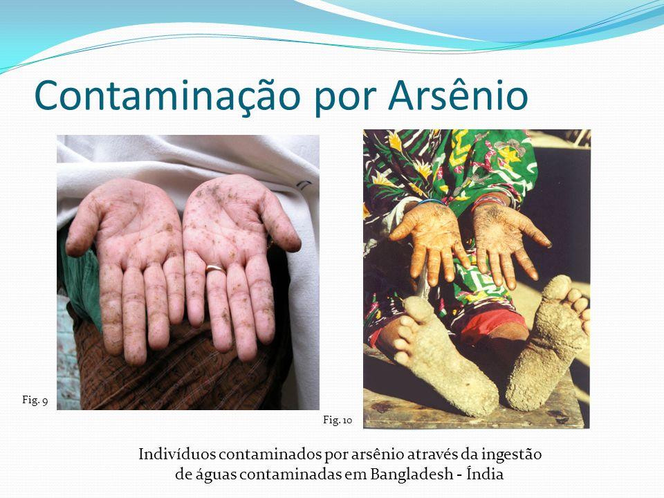 Contaminação por Arsênio