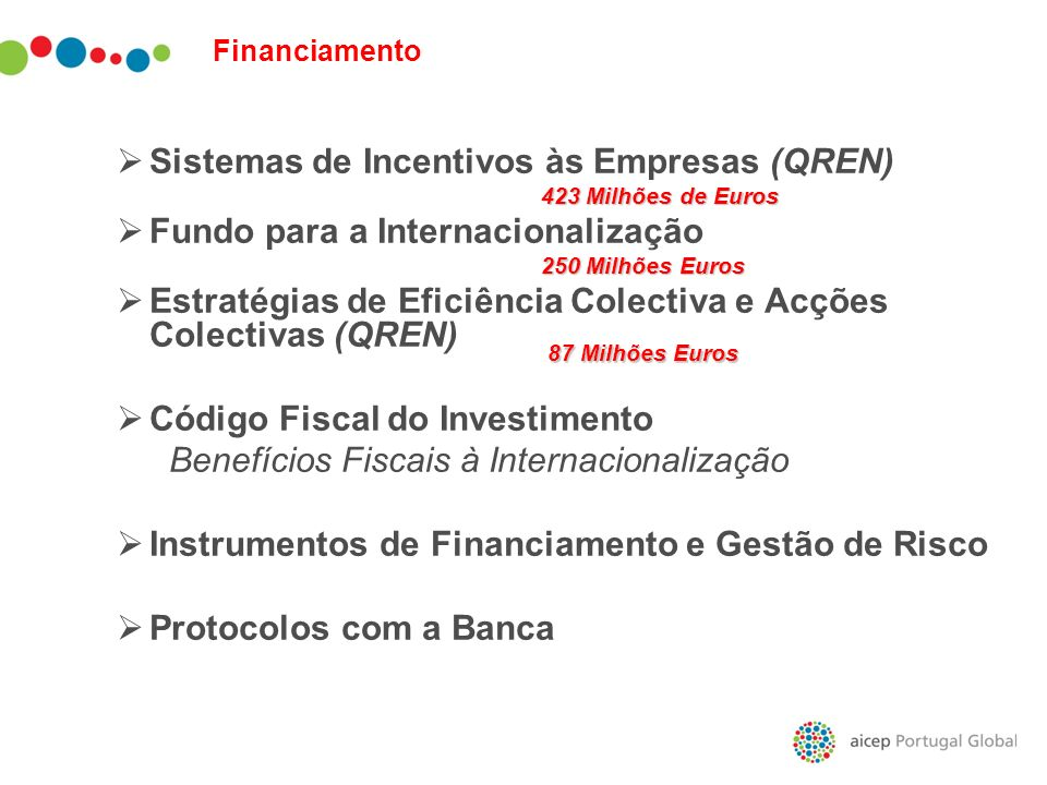 Sistemas de Incentivos às Empresas (QREN)