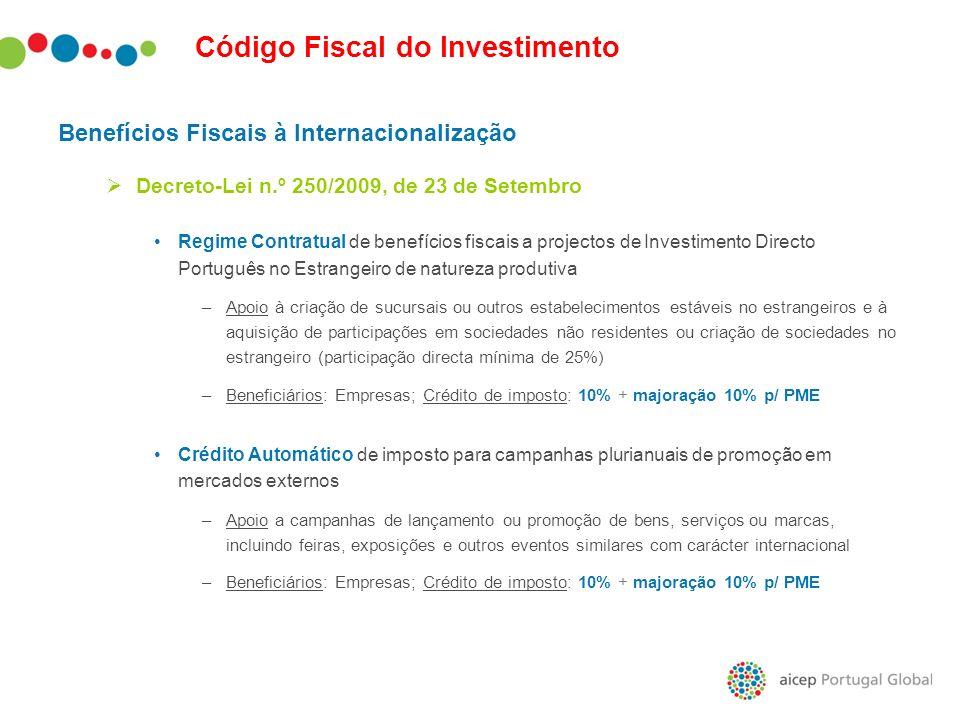 Código Fiscal do Investimento