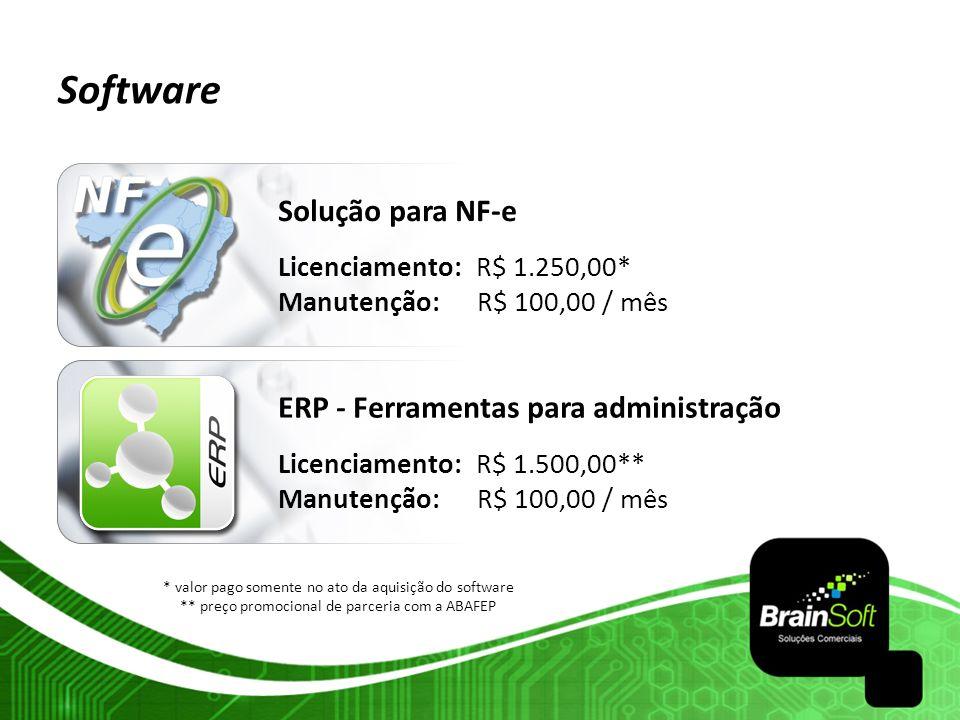 Software Solução para NF-e ERP - Ferramentas para administração