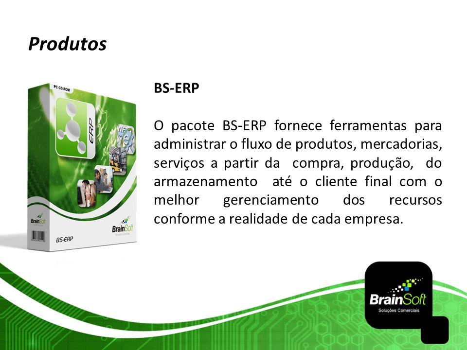 Produtos BS-ERP.