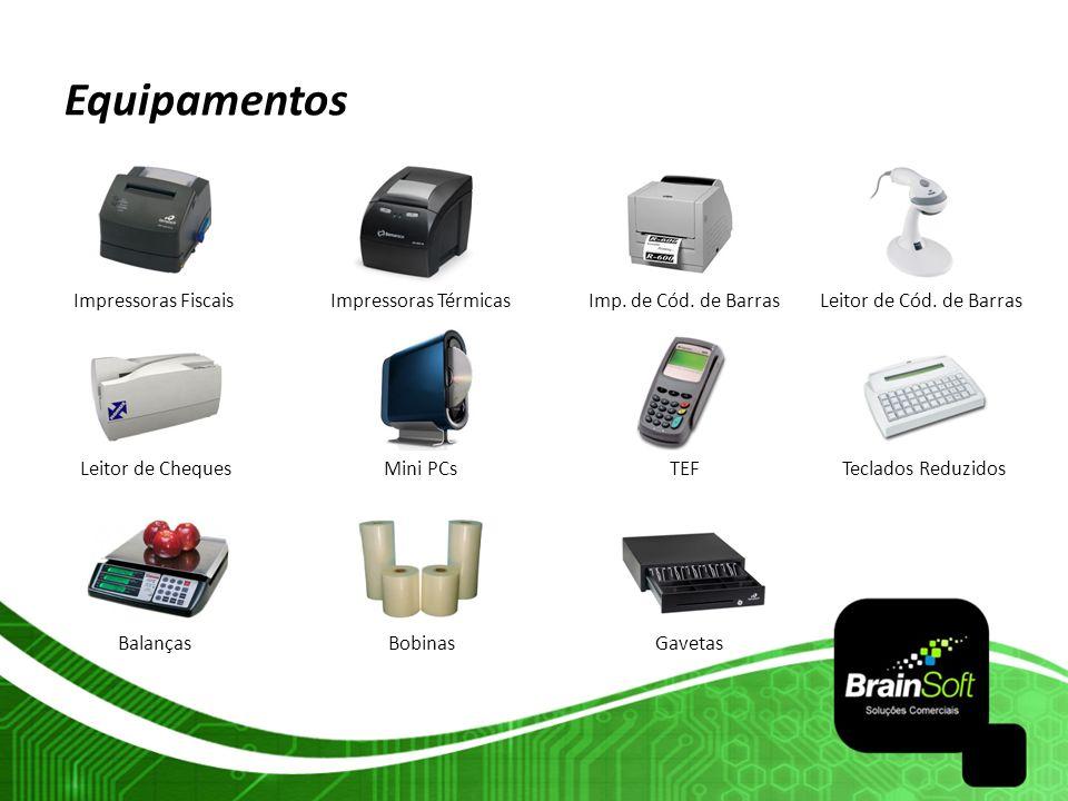 Equipamentos Impressoras Fiscais Impressoras Térmicas