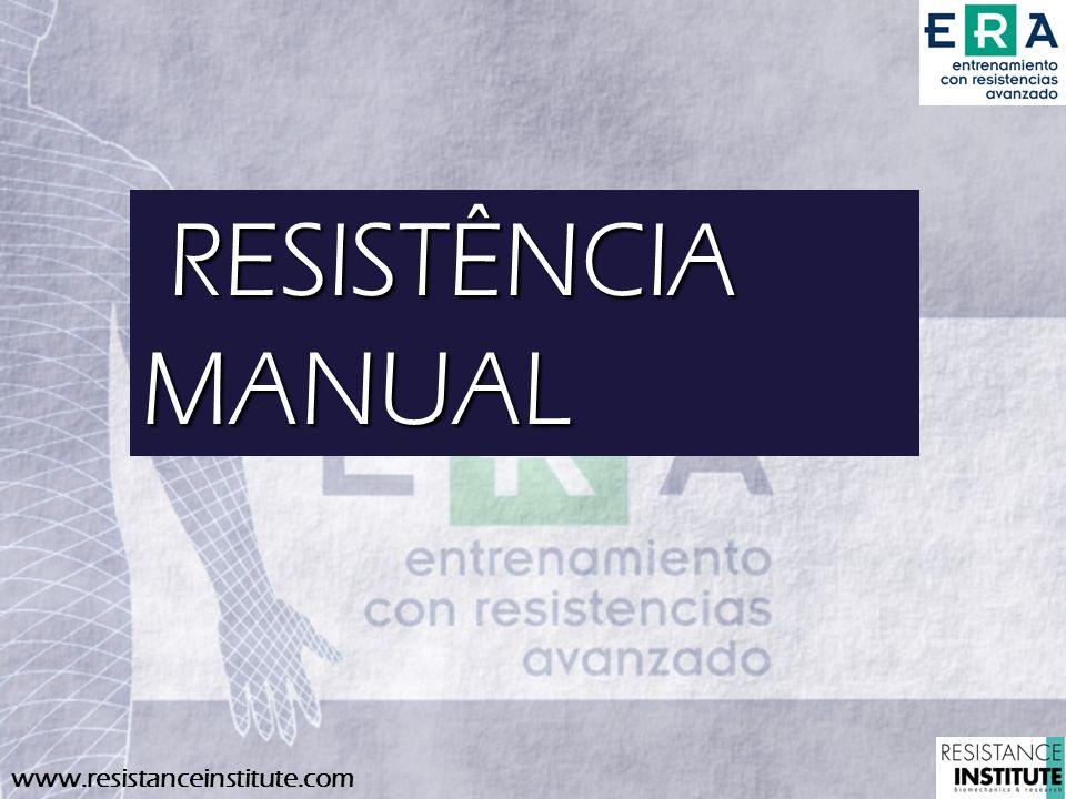 RESISTÊNCIA MANUAL