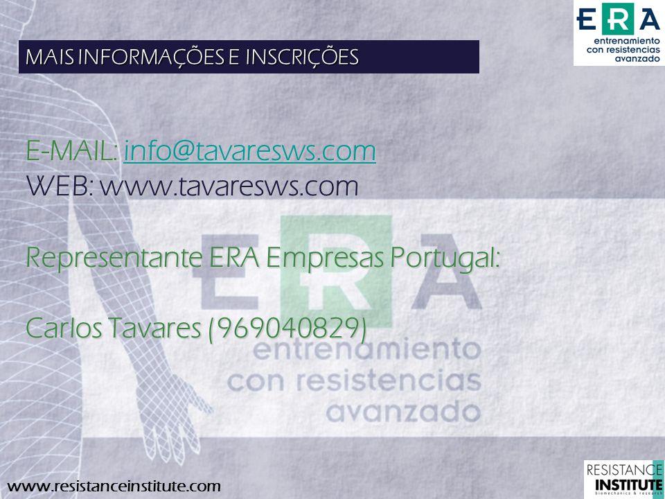 E-MAIL: info@tavaresws.com