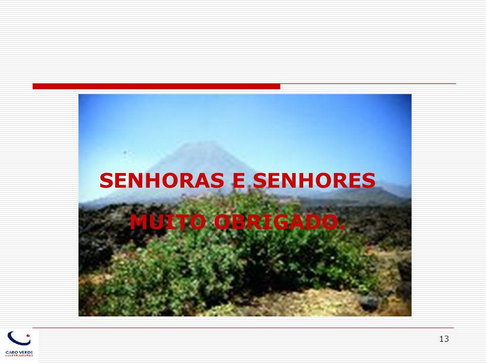 SENHORAS E SENHORES MUITO OBRIGADO.