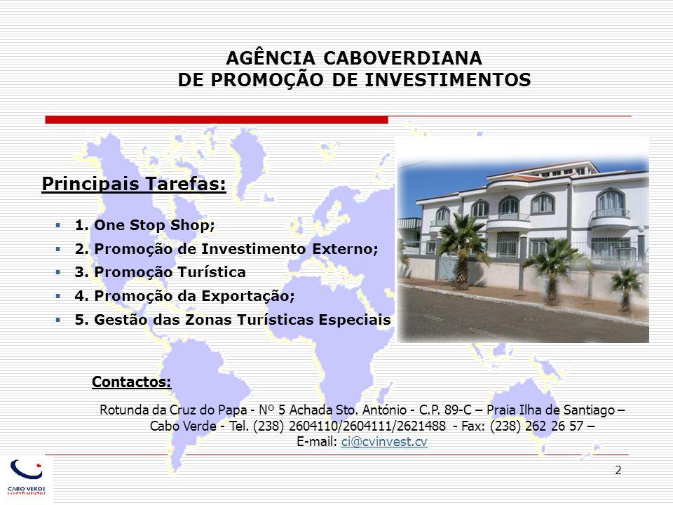 AGÊNCIA CABOVERDIANA DE PROMOÇÃO DE INVESTIMENTOS