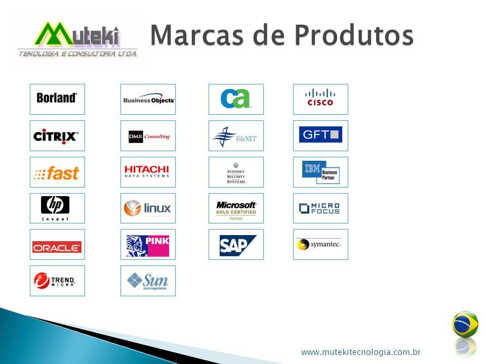Marcas de Produtos www.mutekitecnologia.com.br
