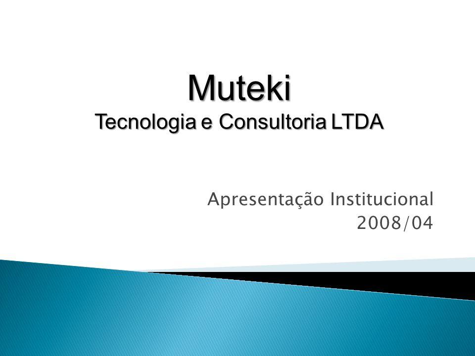 Apresentação Institucional 2008/04