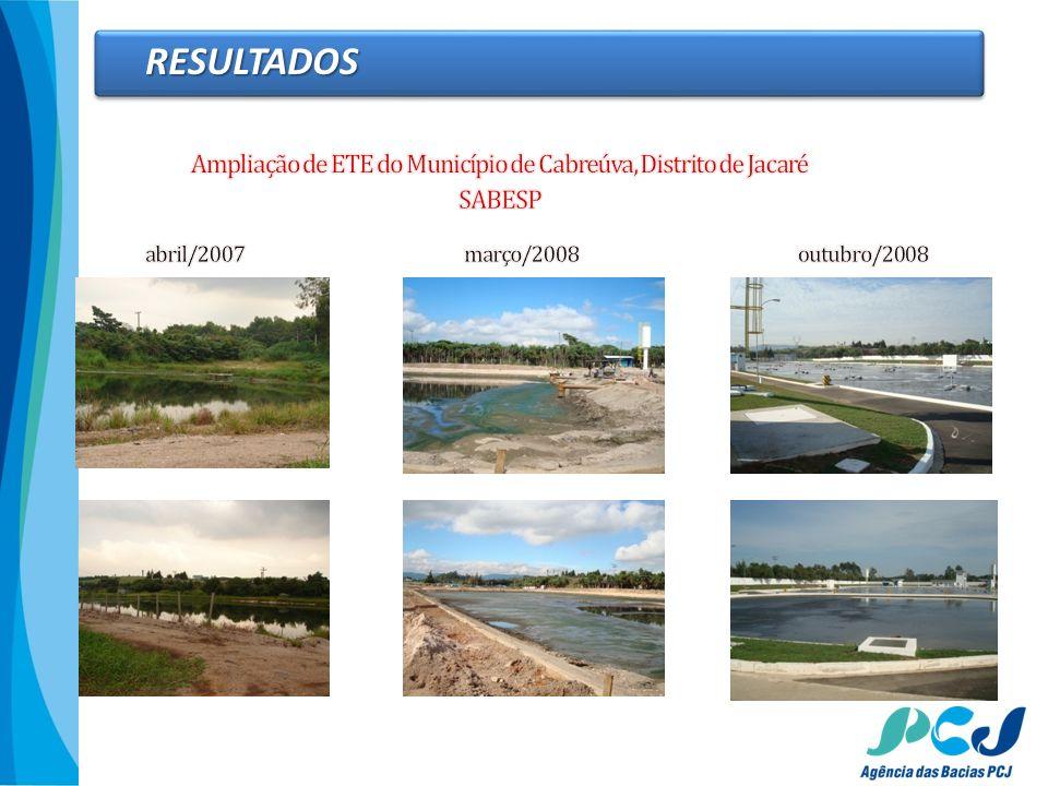 Ampliação de ETE do Município de Cabreúva, Distrito de Jacaré