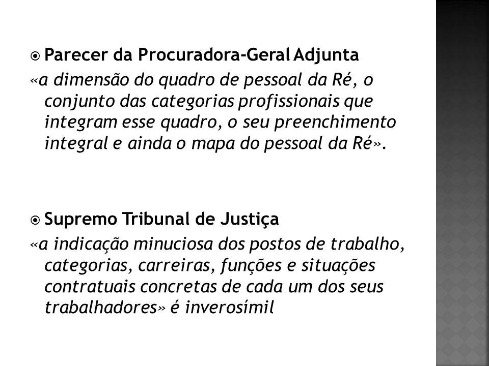 Parecer da Procuradora-Geral Adjunta