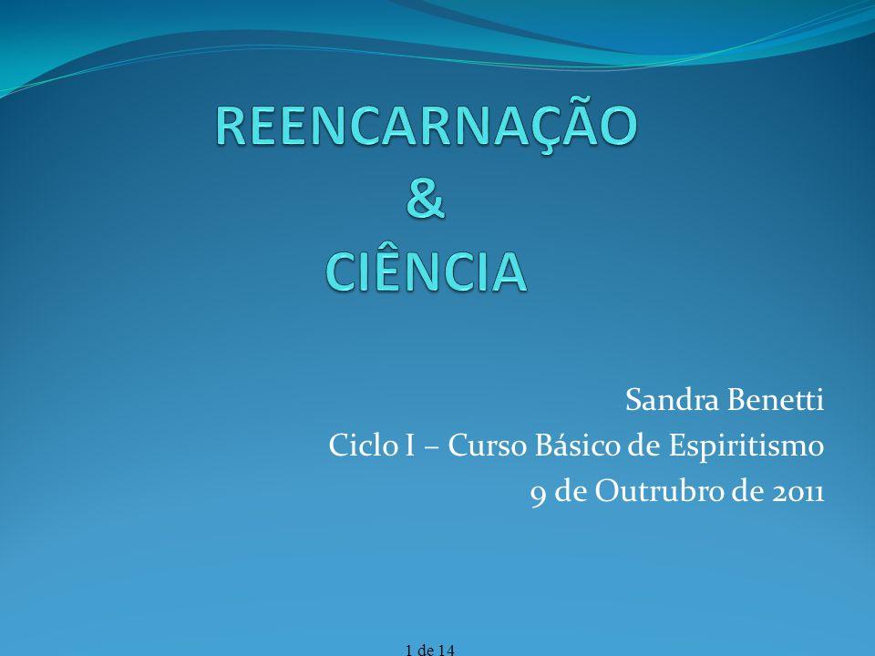 REENCARNAÇÃO & CIÊNCIA