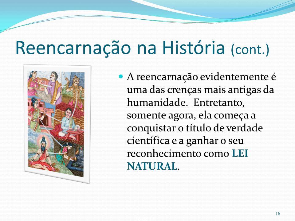Reencarnação na História (cont.)