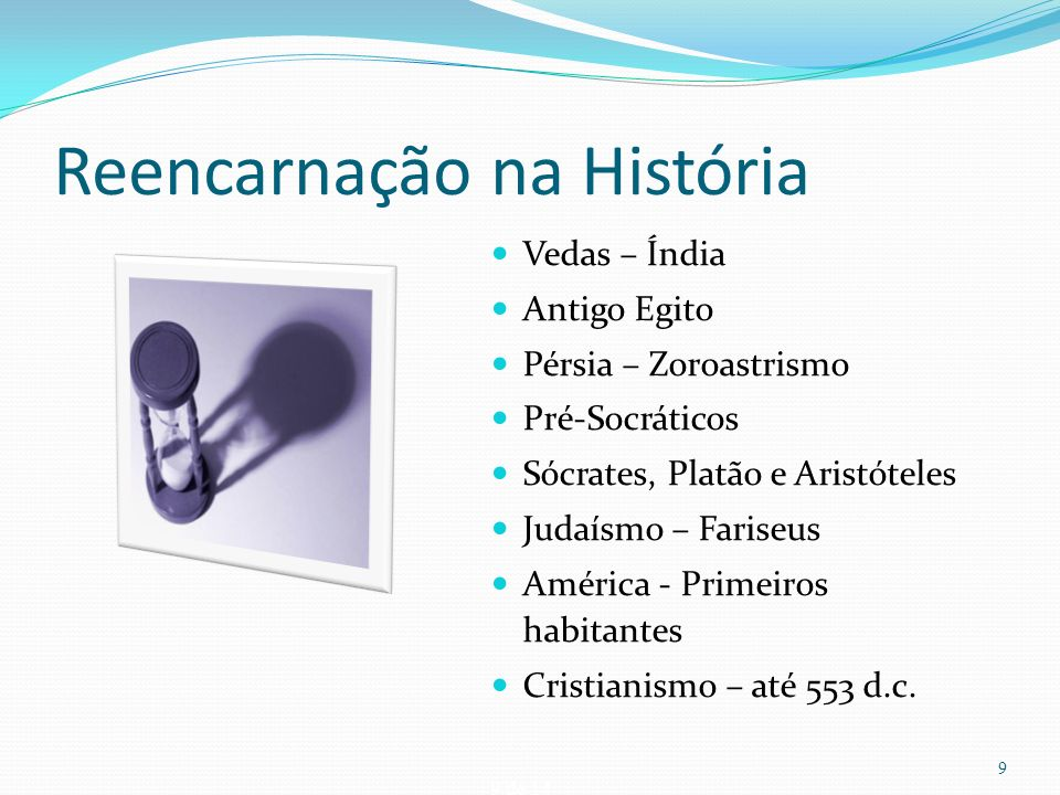 Reencarnação na História
