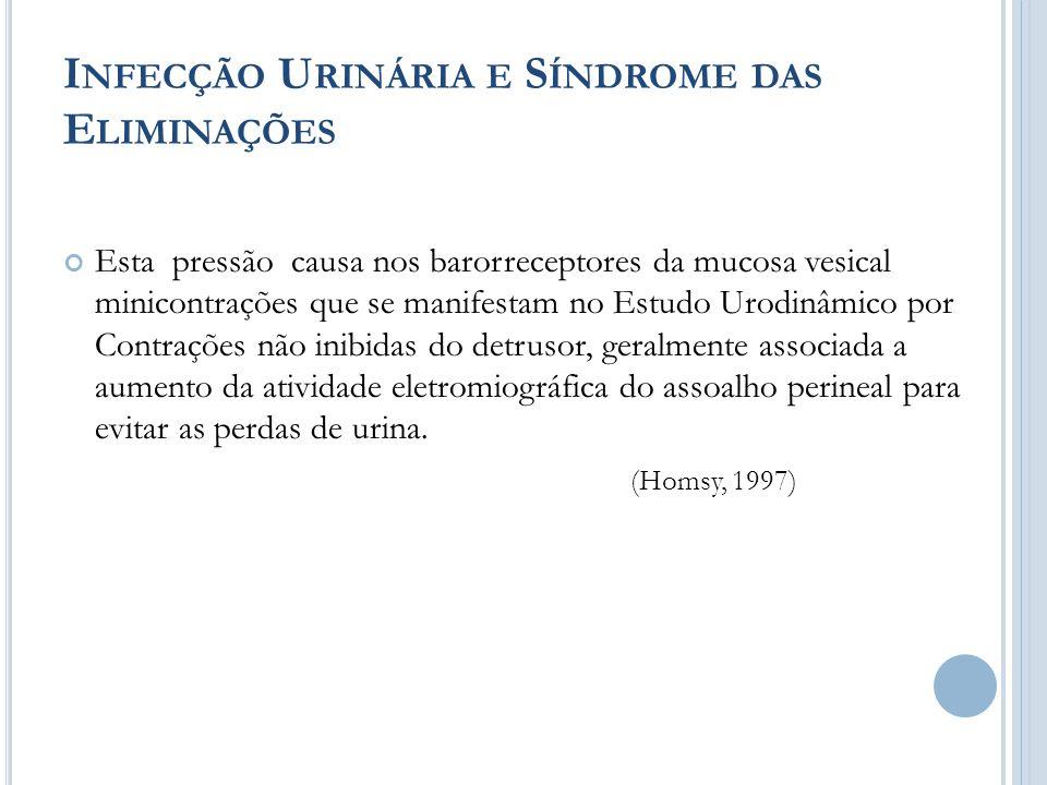 Infecção Urinária e Síndrome das Eliminações