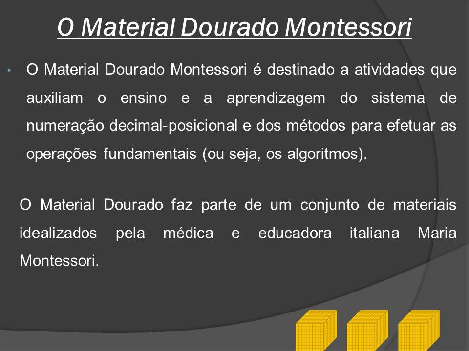O Material Dourado Montessori