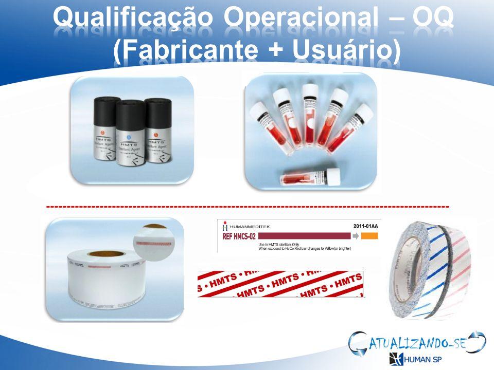 Qualificação Operacional – OQ (Fabricante + Usuário)