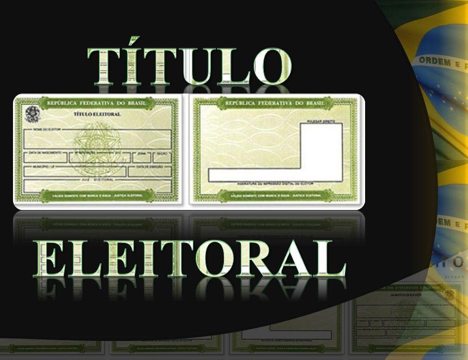 TÍTULO ELEITORAL